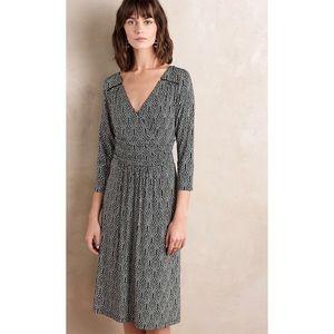 Anthropologie Maeve Galena Midi Dress Sz Medium
